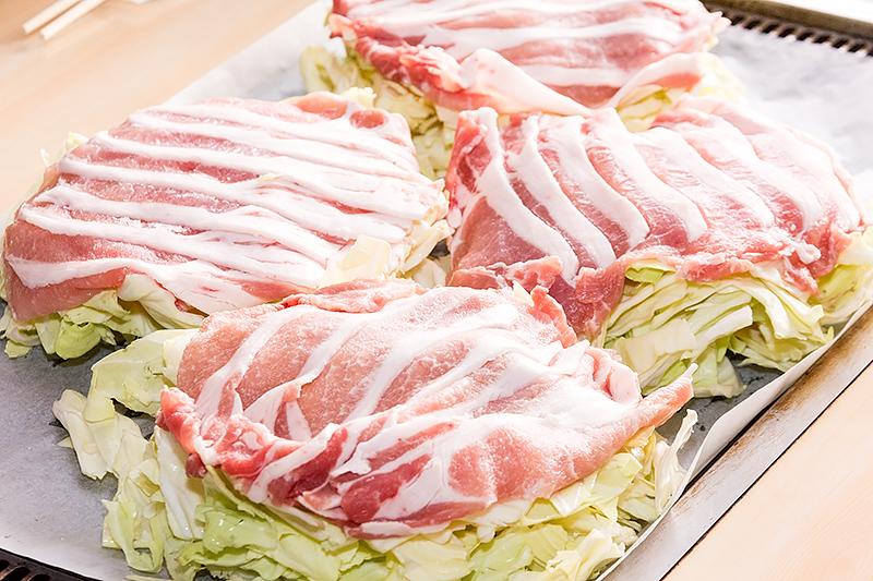 「那須郡司豚」のロース180gを使ったトントン焼。美味でした