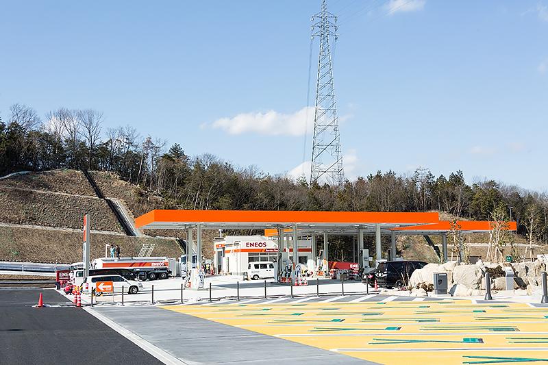 ガソリンスタンドはエネオス