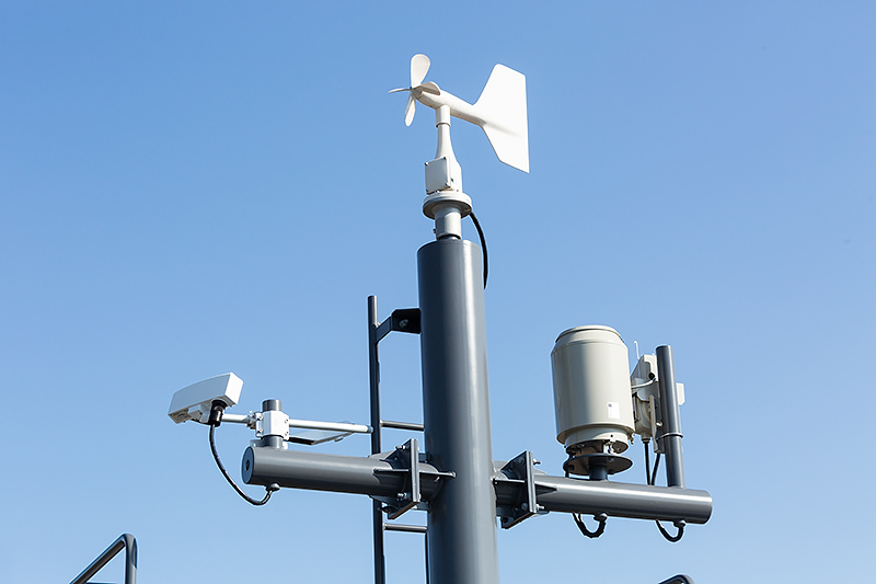 風速計が設置されていた