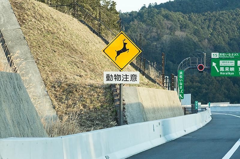 動物注意の標識