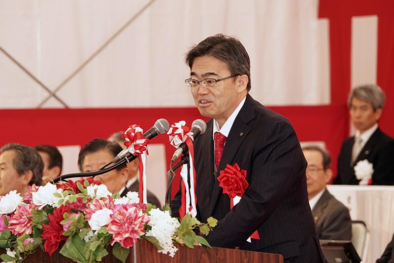 愛知県知事 大村秀章氏