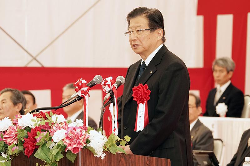静岡県知事 川勝平太氏