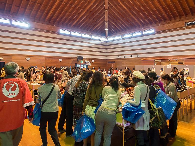 成田市で開催された「ひこうきにのったサンタクロース」