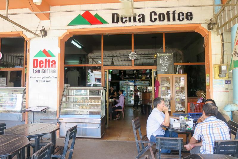 老舗のコーヒー屋さん「デルタ・コーヒー・レストラン」