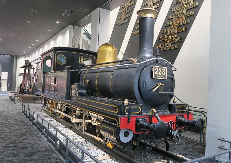 重要文化財に指定された230形233号機関車