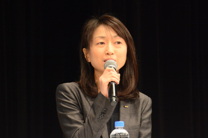 KDDI株式会社 コミュニケーション本部 宣伝部長 矢野絹子氏
