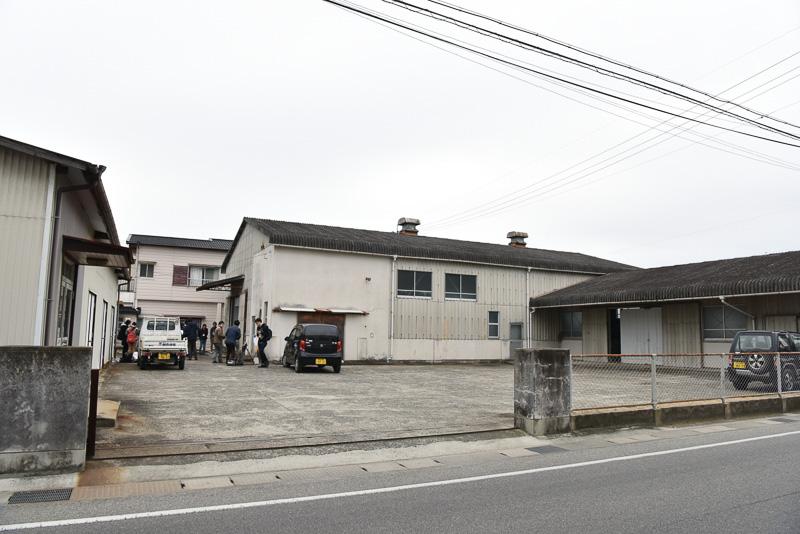 かつての醤油倉庫が「大岩島2」の舞台