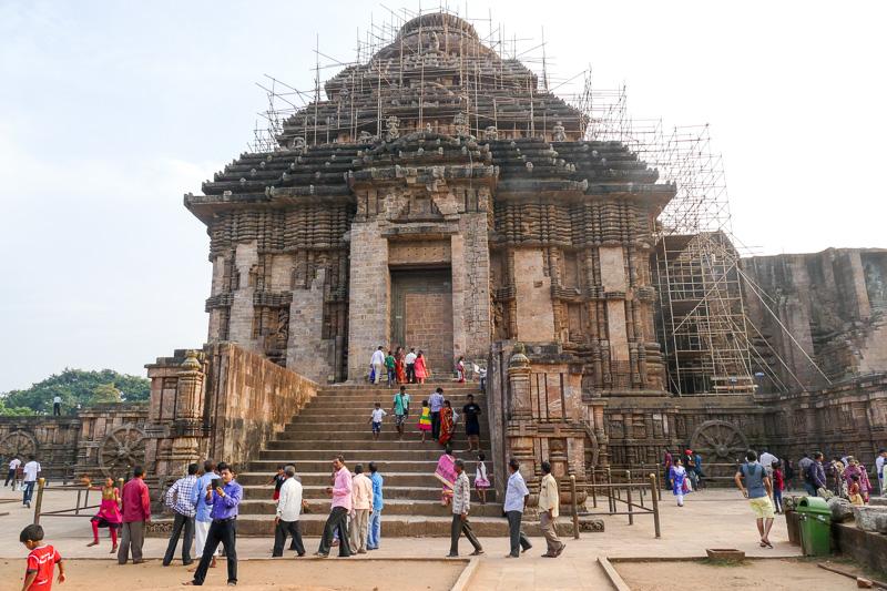 世界遺産「太陽神殿」と呼ばれる世界遺産スーリヤ寺院