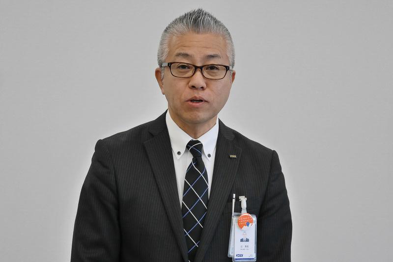 KDDI四国総支社 管理部 部長の辻美紀氏