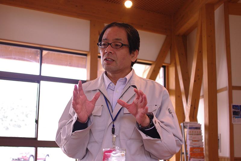 「みかん研究所」の中田治人所長