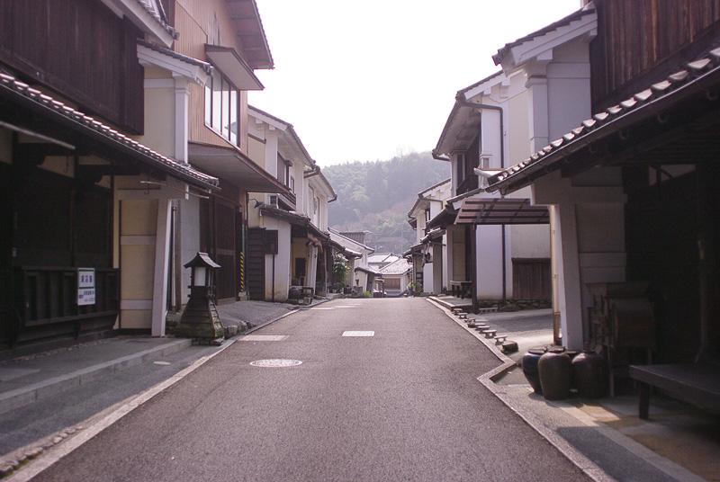 江戸末期から大正の面影を残す街道