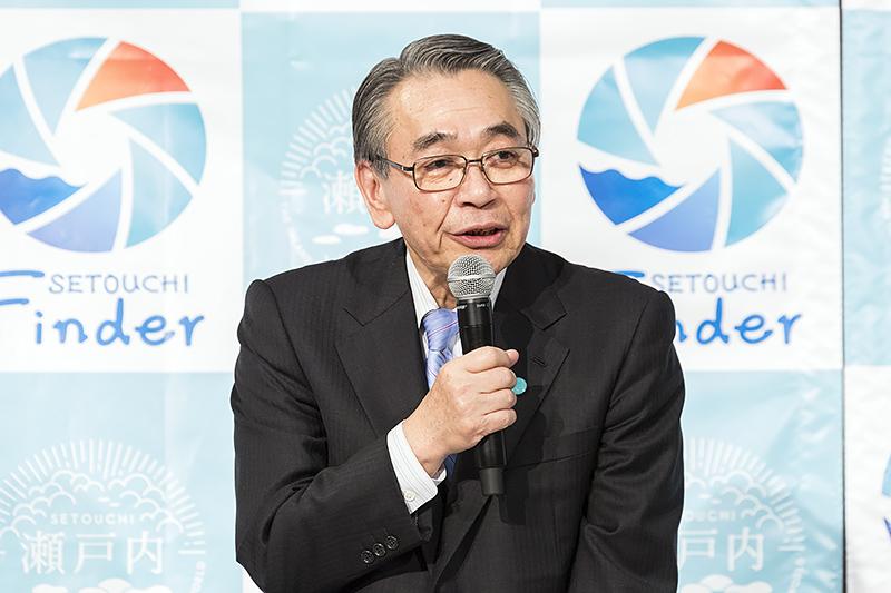 せとうち観光推進機構 会長 佐々木隆之氏