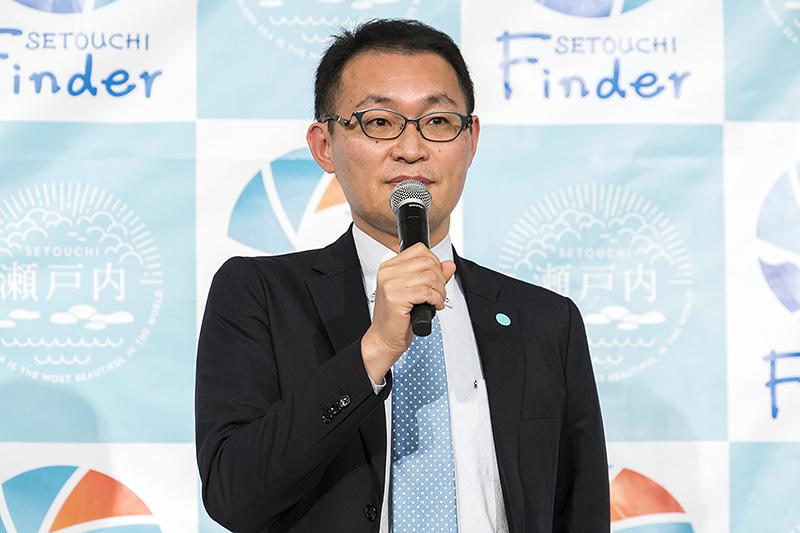 せとうち観光推進機構 事業本部長 村橋克則氏