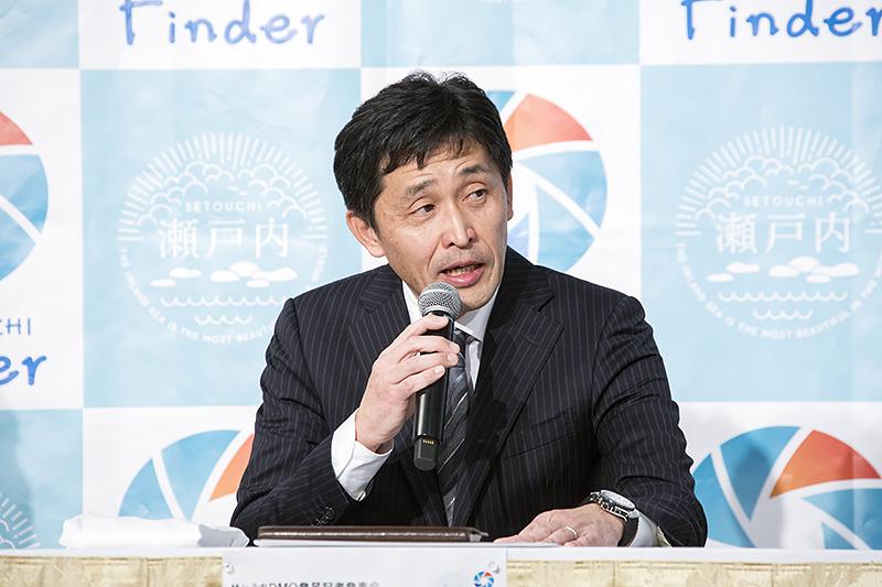 瀬戸内ブランドコーポレーション 代表取締役社長 水上圭氏