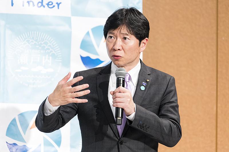 岡山県知事 伊原木隆太氏