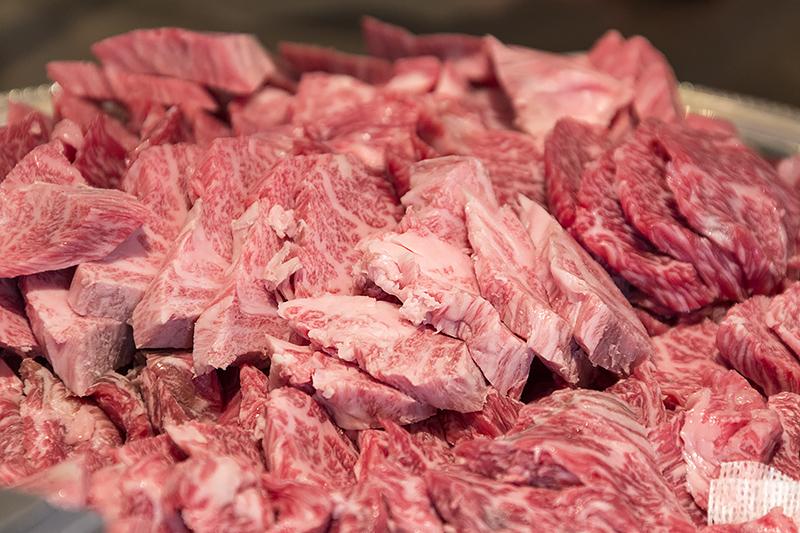 国産牛の鉄板焼