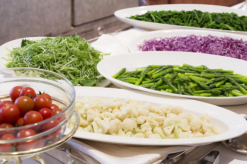 瀬戸内地方の野菜 サラダバー