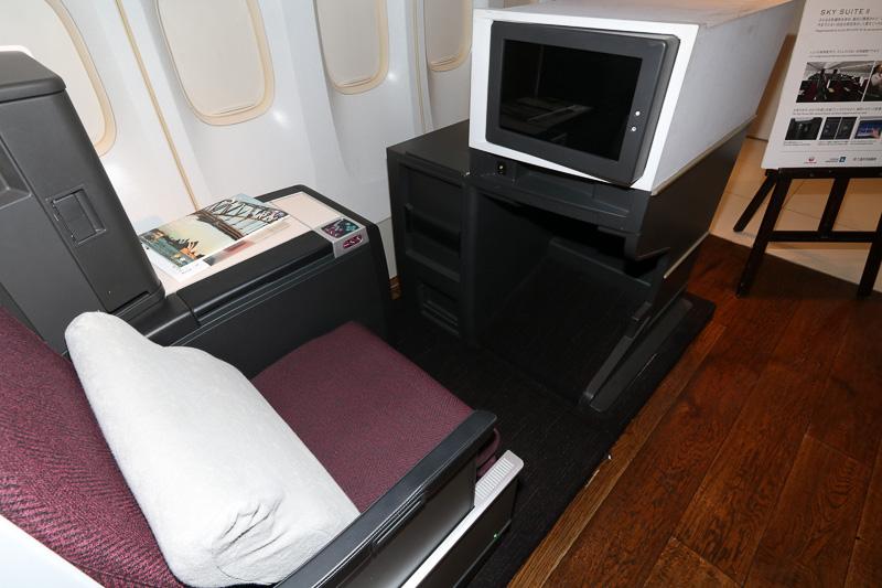 JAL SKY SUITE IIのシート