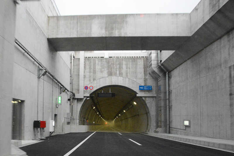 3月26日開通した国道357号東京港トンネル