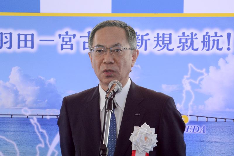 全日本空輸株式会社 代表取締役副社長 内薗幸一氏