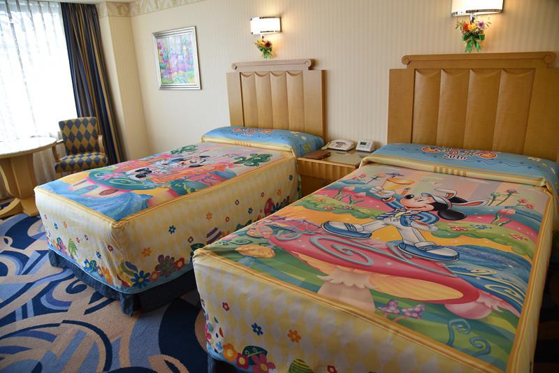 ディズニーアンバサダーホテルの「ディズニー・イースター」デコレーション客室