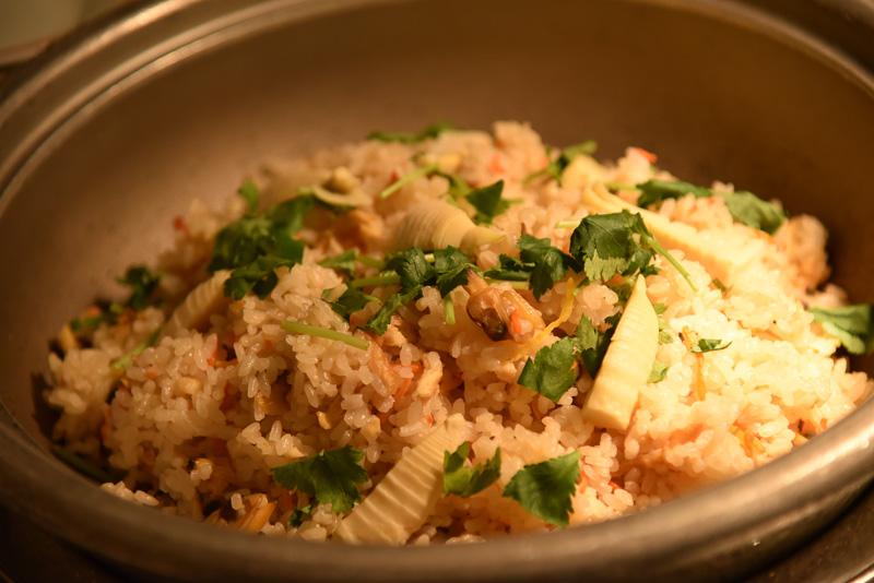 アサリと筍の炊き込みご飯