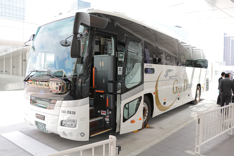大阪府の西日本ジェイアールバス株式会社