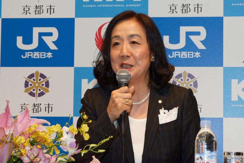 日本航空株式会社 執行役員西日本地区支配人 中野星子氏