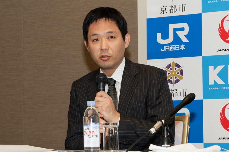 新関西国際空港株式会社 航空営業部長 小関貴裕氏