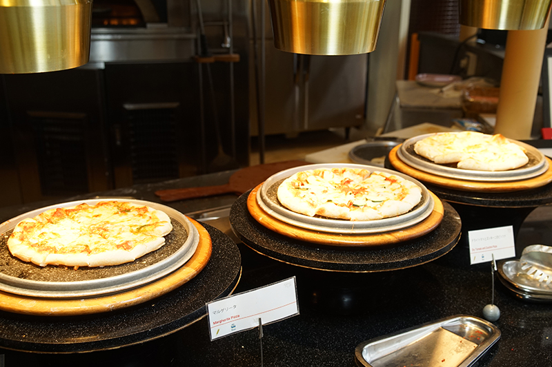 石窯焼きピザコーナー