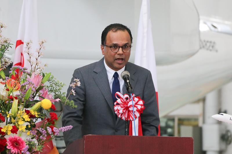 在日カナダ大使館 公使(商務担当) アルン・アレグザンダー氏