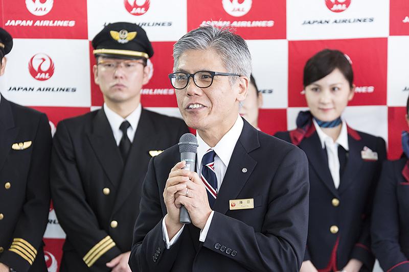 日本航空 代表取締役副社長 執行役員 藤田直志氏