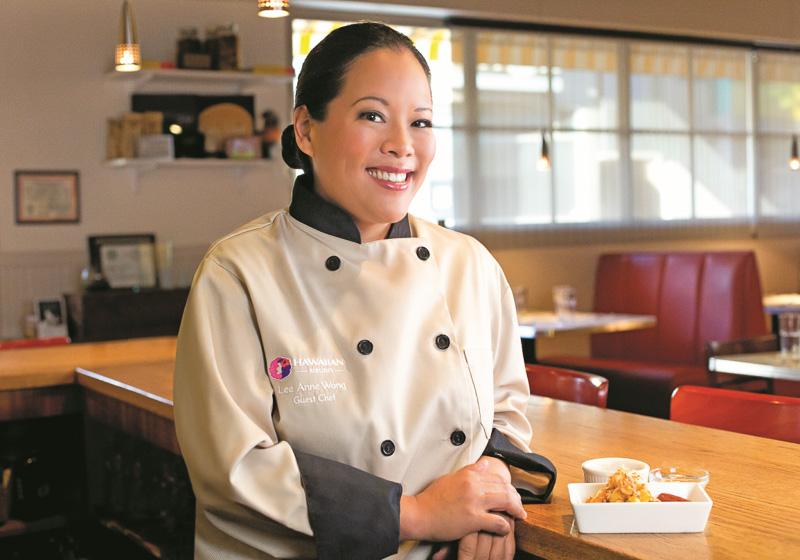 「Koko Head Cafe」オーナーシェフのリー・アン・ウォン氏