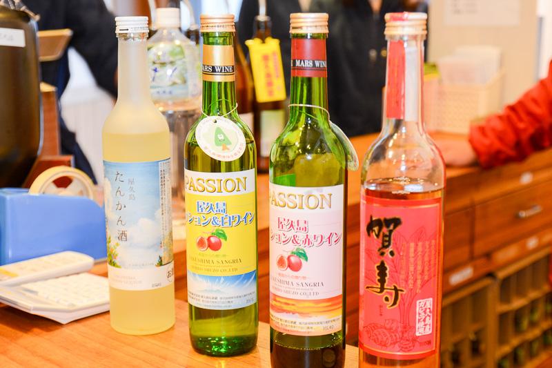 リキュール、ワインといった果実酒も製造