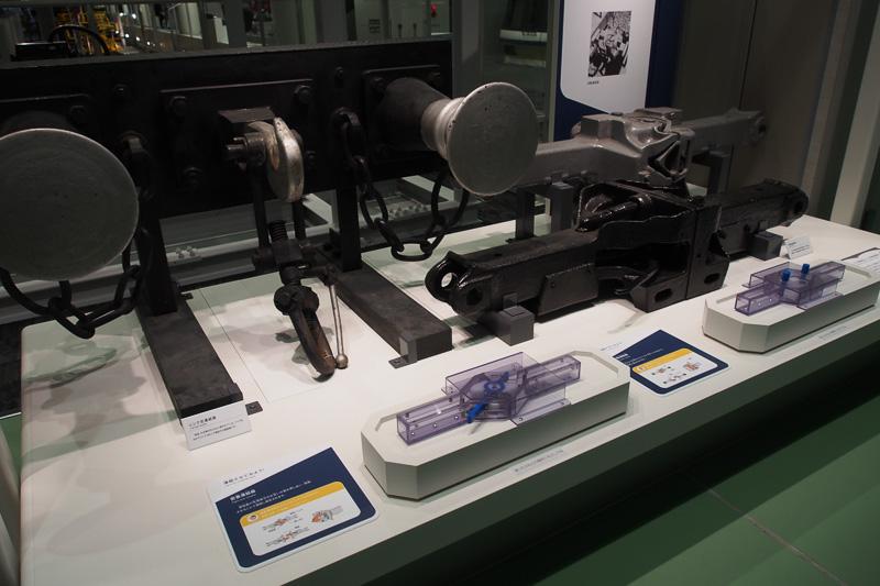 連結器の仕組み。大正時代までは日本もリンク式だったが、ほぼ一夜にして自動連結器に交換したエピソードがある