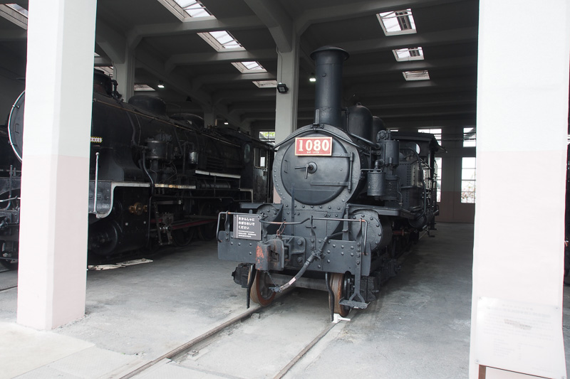 1070形1080号機。1901年イギリス製