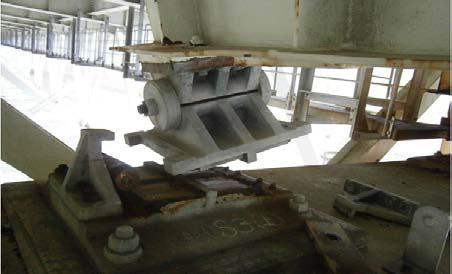 大分自動車道 湯布院IC~日出JCT間の並柳橋の主桁の変形