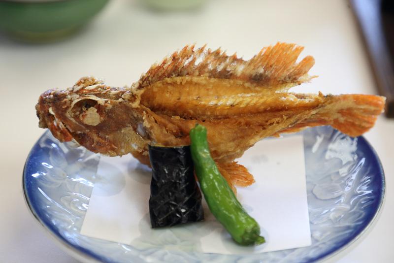 長崎県ブランド魚「早崎瀬戸あらかぶ」のカリカリ唐揚げは骨まですべて食べられます