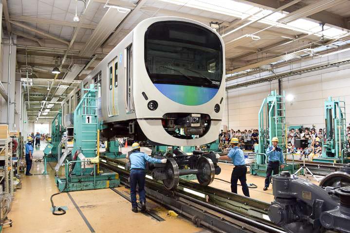 昨年開催された「西武・電車フェスタ2015 in 武蔵丘車両検修場」の様子