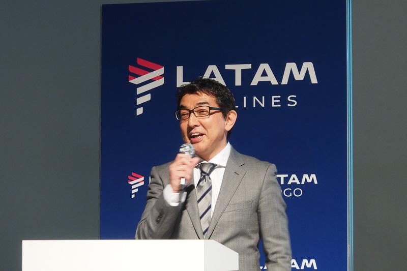 ラタム航空グループ 日本地区副支社長 山田剛氏