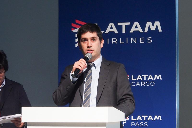 ラタム航空グループ 日本地区支社長兼アジア地区営業統括本部長 ハビエル・アリアス氏