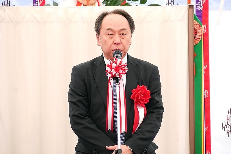 三井物産プラントシステム 代表取締役社長 先﨑尚祐氏