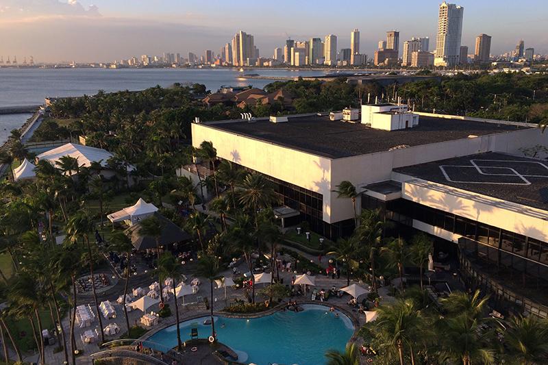 客室からの眺めが素晴らしいソフィテル フィリピン プラザ マニラ