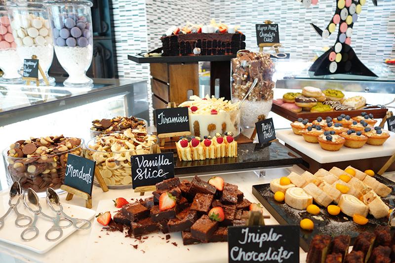 デザートも充実。フィリピンの人たちは甘いものが大好きなのです