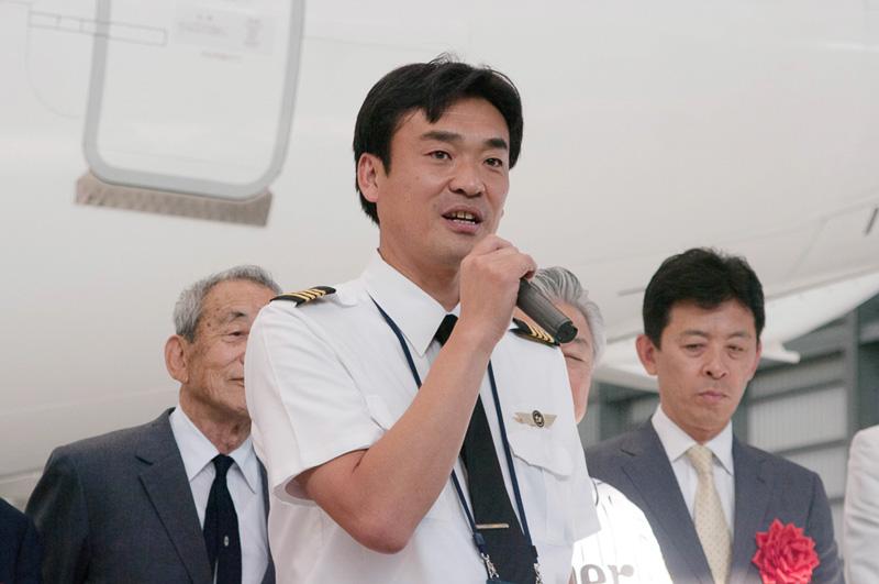 自身も機長としてタイガースジェットを操縦する発案者の益田敏弘氏