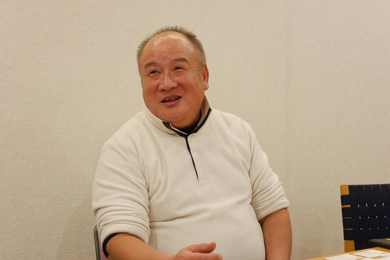 長崎一番の社長、高橋一正さん。無添加や国産にこだわった品質重視の蒲鉾にこだわっているという