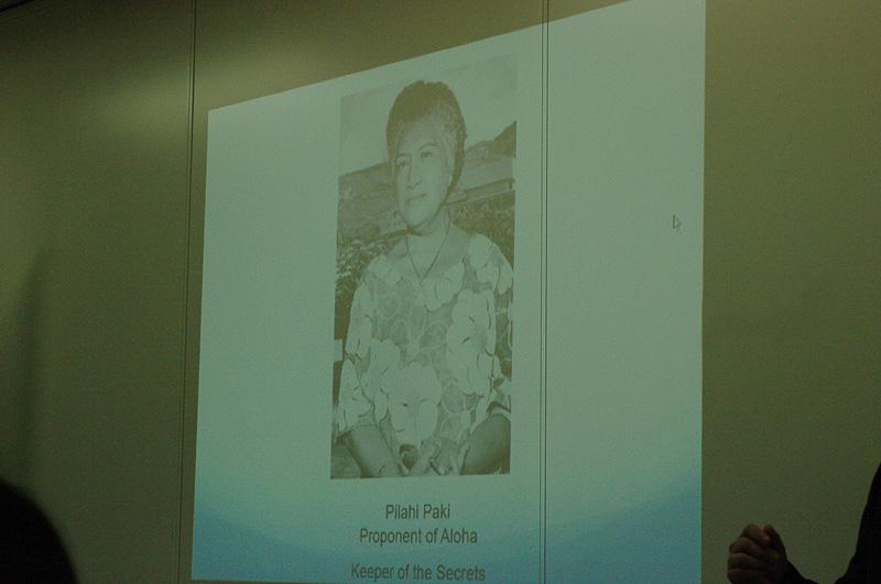 ハワイの伝承を守る長老ヒラピ・パキ