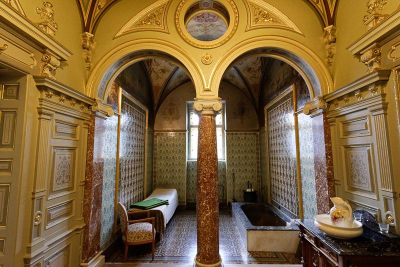 """英国王エドワード7世のために1896年に作られた""""ネオ・ルネッサンススタイル""""の「ロイヤルキャビン」"""