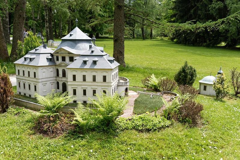 1723年までに建てられたとされるバロック様式の宮殿