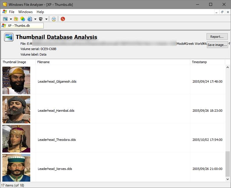 「Windows File Analyzer」v2.6.4.0